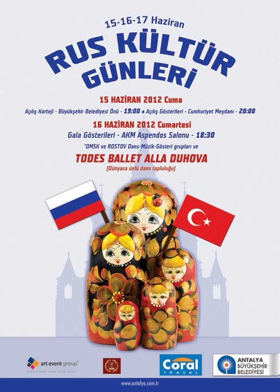 Russian Culture Days in Antalya