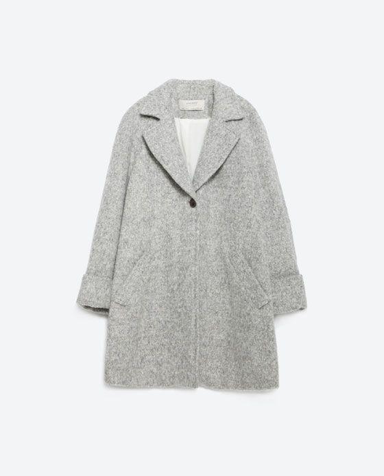 Image 8 of WOOL COAT from Zara