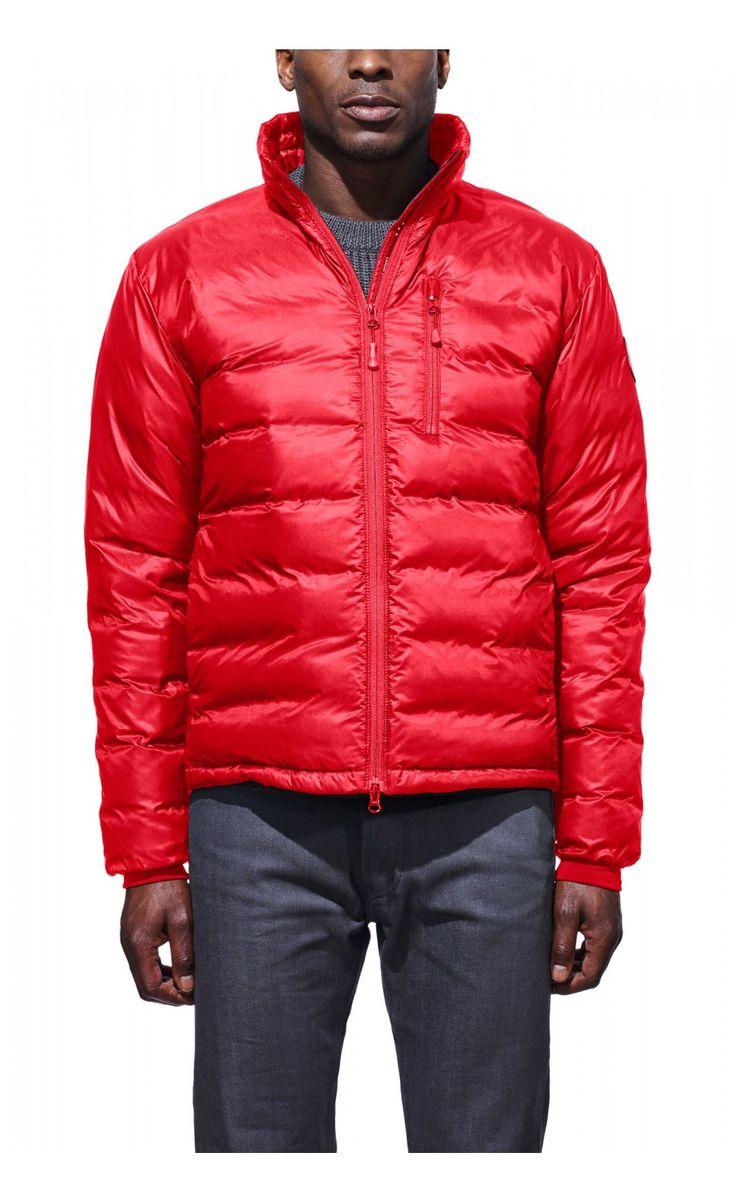 Canada Goose Lodge Jacket Red Men - Canada Goose #parka #jackets #fashion #men #christmas #gift #lifestyle #winterfashion