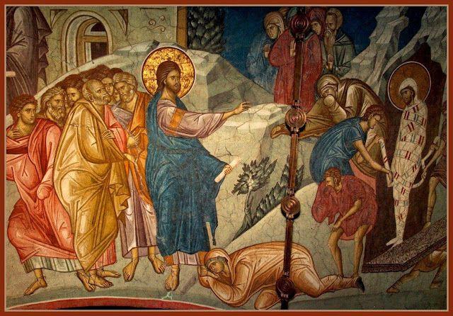 Résurrection de Lazare par le Christ