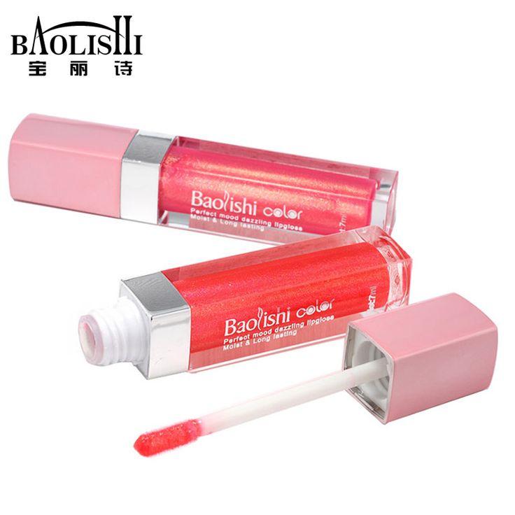 Baolishi 12 цвета красные губы пятно лубяных матовый блеск для губ обнаженной губы оттенок женской красоты губы более пухлыми марка макияж #women, #men, #hats, #watches, #belts, #fashion