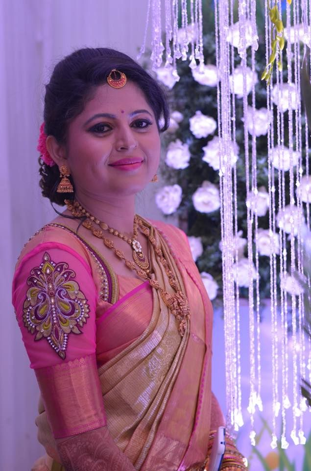 (3) Our So Bubbly & Beautiful bride Namitha !!!! - Makeup by Vejetha Anand