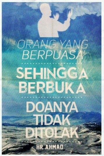 Doa Orang Yang Berpuasa Mustajab   Poster, Movie posters ...