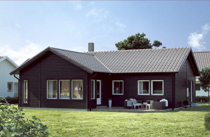 Mycket yta och många rum - Villa Älmhult från SmålandsVillan