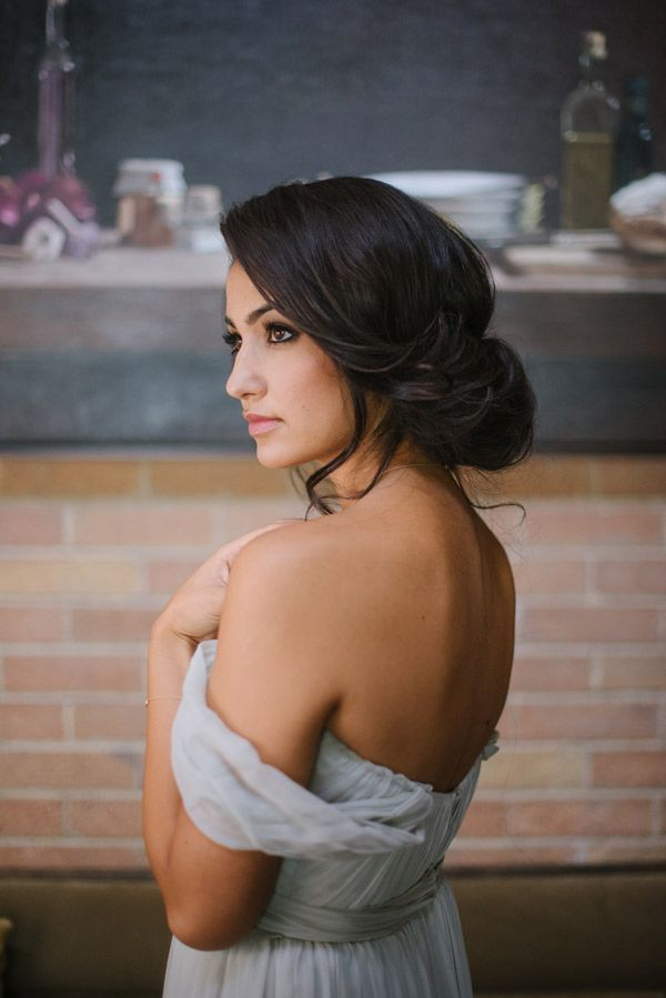 Casual Bridal Up-Do ~ Bridal Hair Ideas ~ Hair and Make-up by Steph