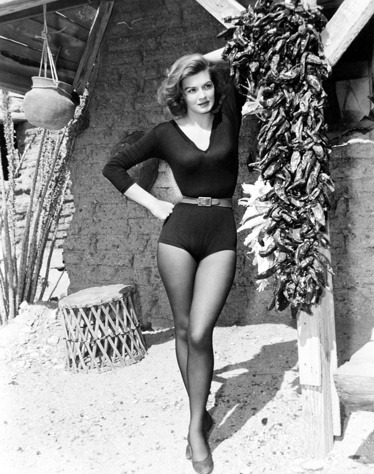Portrait of Angie Dickinson for Rio Bravo directed by Howard Hawks, 1959