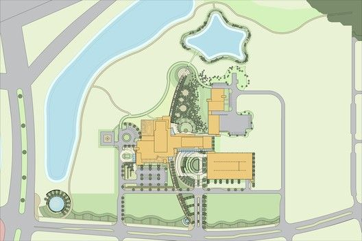 Nemours Children's Hospital,Site Plan