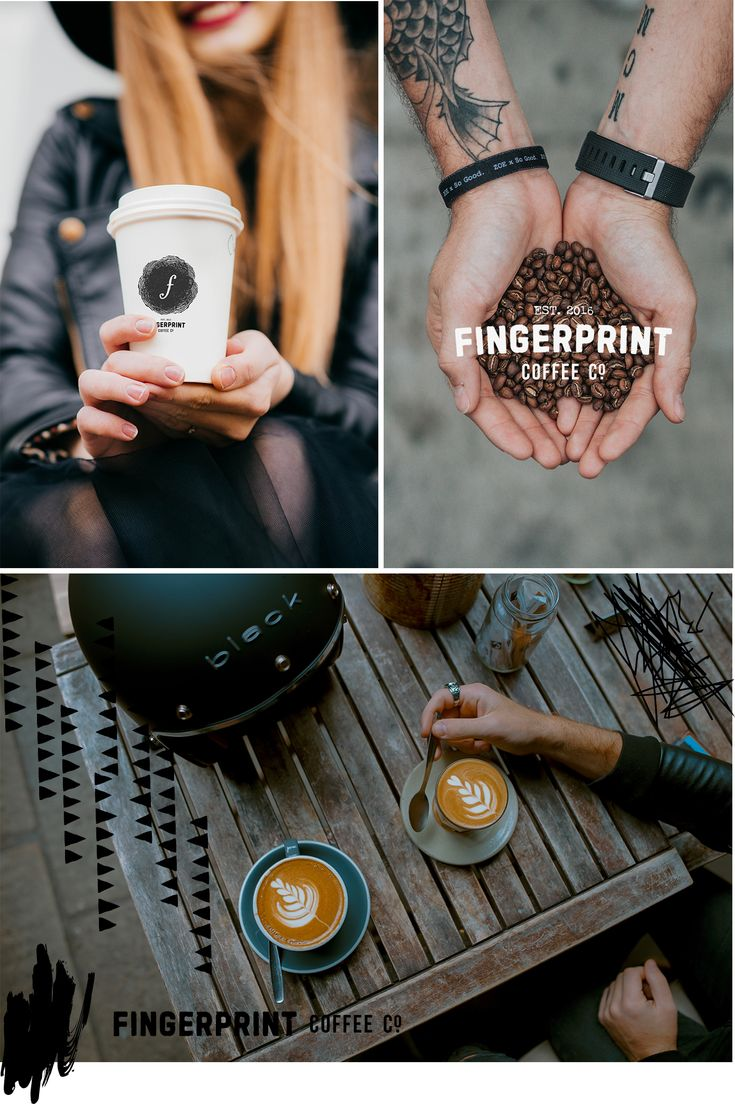 """Coffee house branding, brand development for coffee roasting company. Tough meets tactile, all black, but still appealing to a broad audience. How do you make """"tough"""" feel """"cool"""" without it being inaccessible? This brand. #branding"""