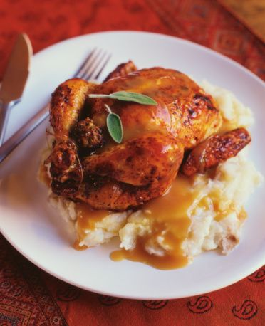 Herb and Spice Roasted Cornish Game Hens Recipe