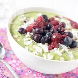 Grüne Smoothie Bowl @ de.allrecipes.com