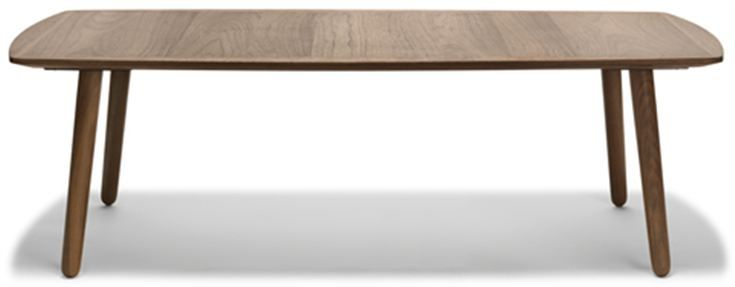 Wake Sofabord. Coffee table in walnut