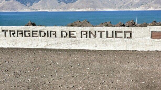 Memorial. Tragedia Antuco