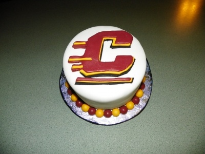 Central Michigan University By CakeDoctor0907 on CakeCentral.com