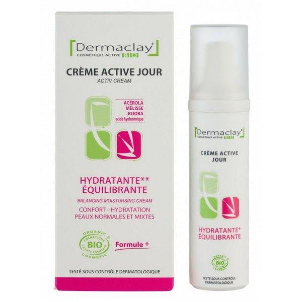 Crème Hydratante Equilibrante (peaux normales et mixtes)