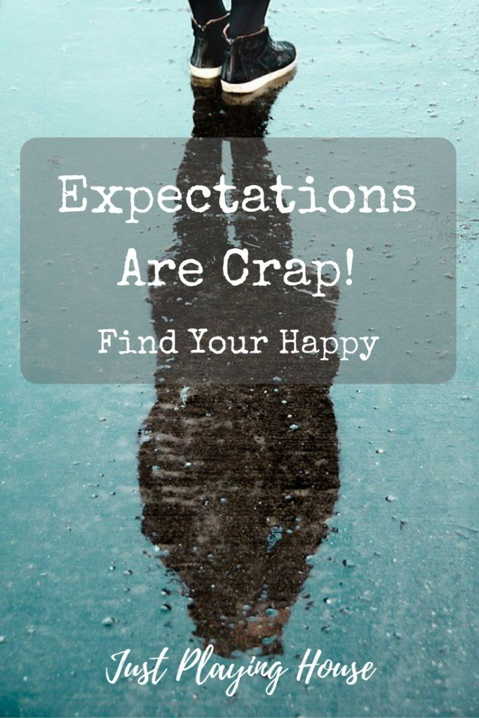 When your life doesn't match the picture in your head - Expectations - Find Happiness