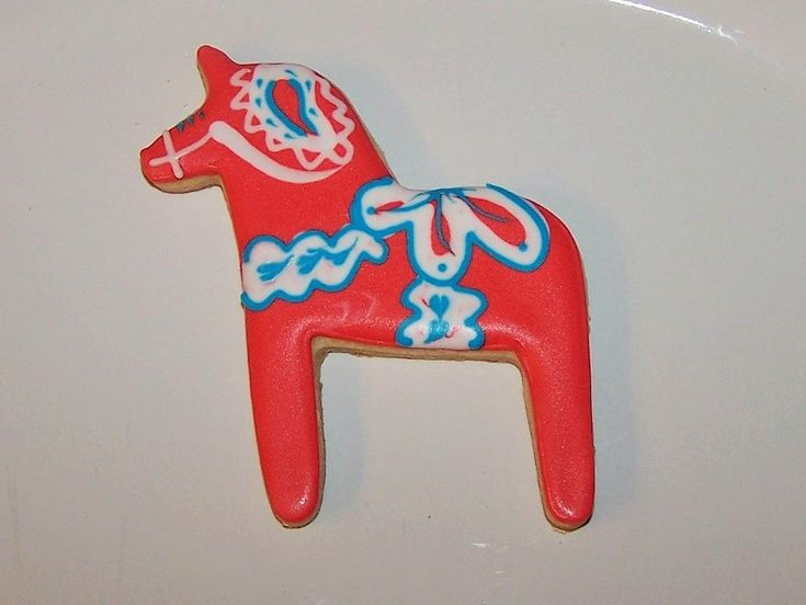 swedish cookie cutters | Scandinavian Swedish Dala Horse Cookie Cutter by GiftChaletAuburn