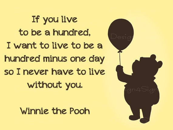 Winnie the Pooh  Quote Poster by Design4Sign on Etsy, $12.00