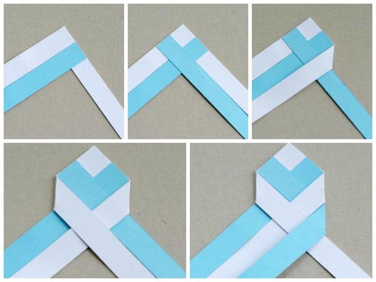 закладка для книг своими руками оригами - Поиск в Google