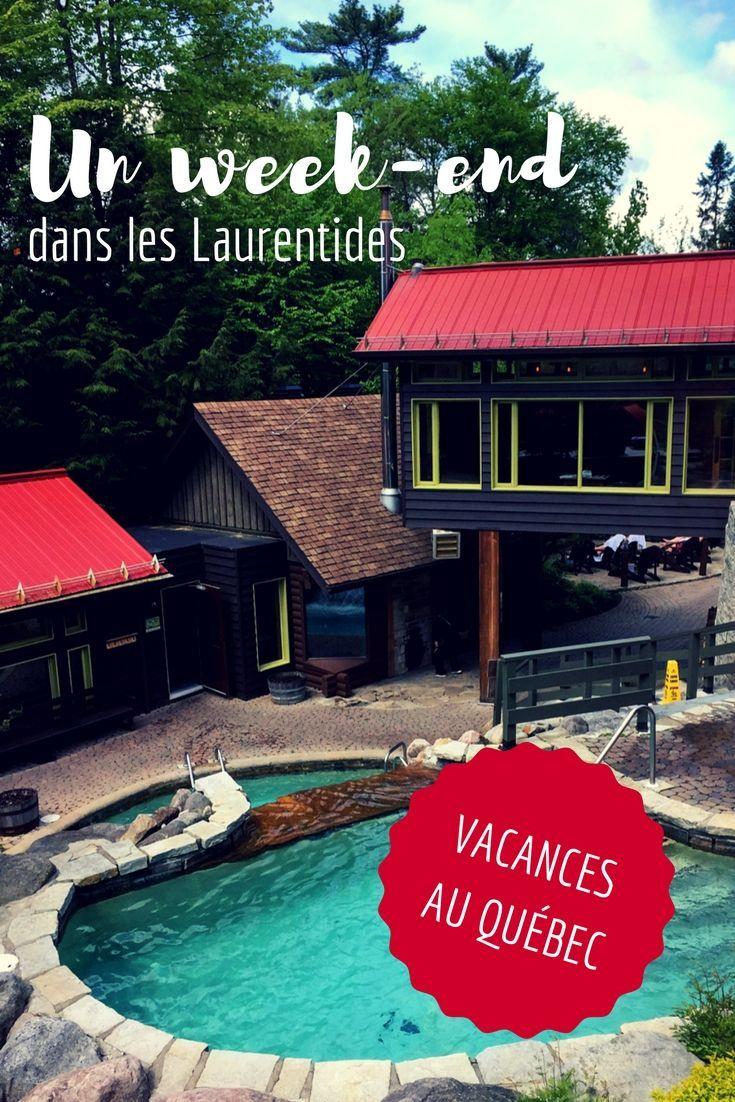 Deux activités à faire en amoureux lors d'un week-end dans les Laurentides au Québec.