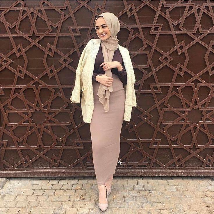 Hijab Fashion | Nuriyah O. Martinez | 8,883 Likes, 147 Comments - Muslimah Apparel Things (@muslimahapparelthings) on Instagram