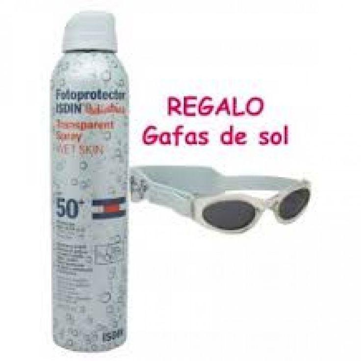Isdin Pediatrics Spray Transparente SPF50 wet skin 200ml+Gafas de Sol