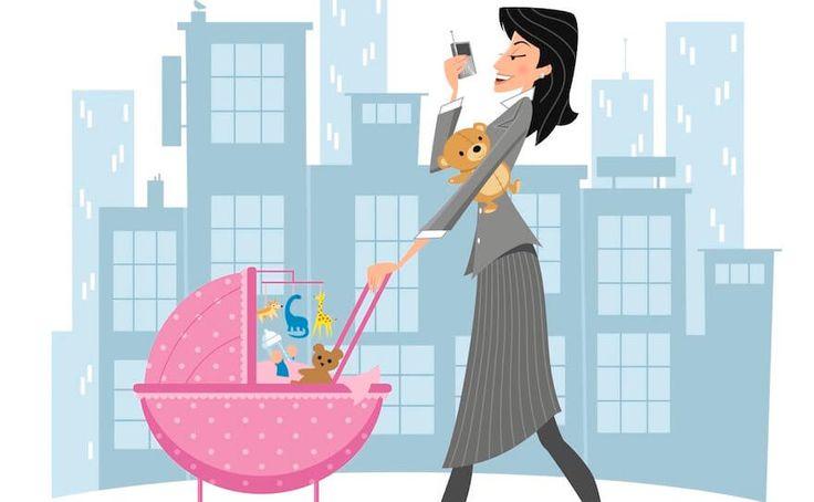 Ser mujer trabajadora y madre es todo un reto para la sociedad actual donde aún no se puede conciliar la vida familiar con la profesional.