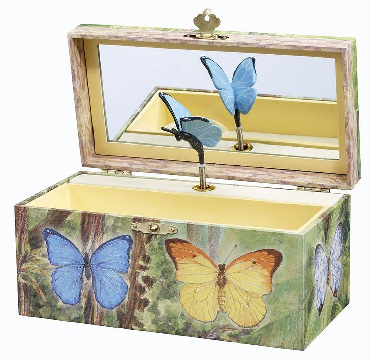 Butterflies music box gifts