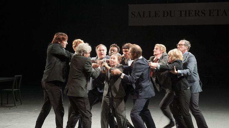 MEILLEURE PIECE DE L'ANNEE  Ça ira (1) Fin de Louis de Joël Pommerat 4h20, 2 entractes, MC2 jeudi 26 mai. © Elizabeth Carecchio,