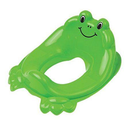 Mommy's Helper Froggie Potty Seat Frog Design Potty Seat Topper, Green