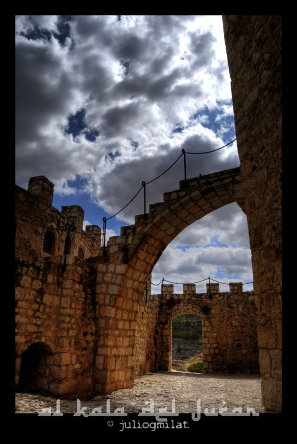 Castillo de Alcalá del Júcar, España