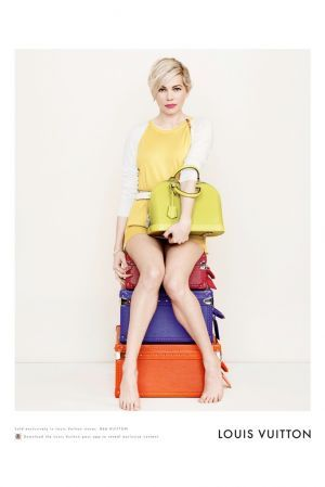 Michelle Williams by Peter Lindbergh for Louis Vuitton 2014