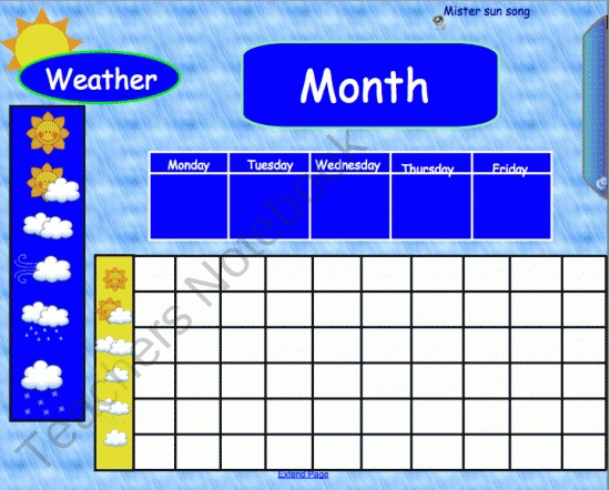 Kindergarten Calendar Math Powerpoint : Page smartboard morning math meeting product from