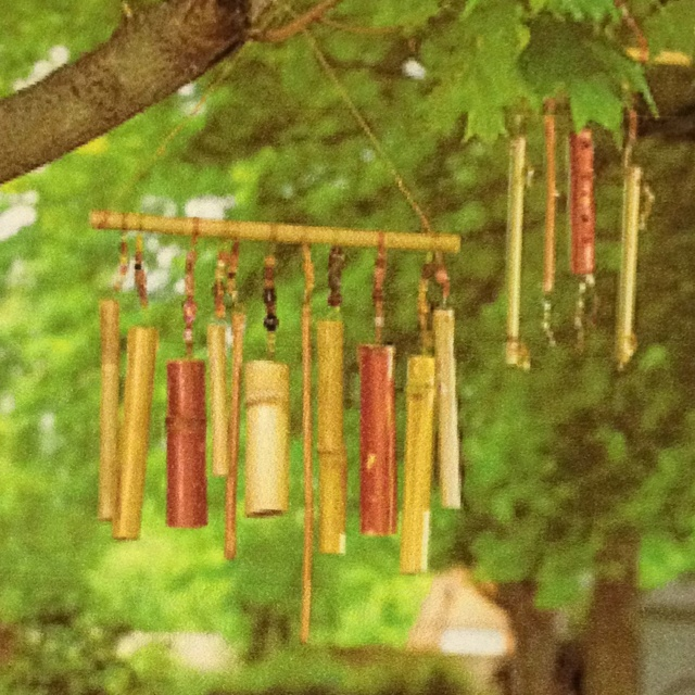 38 best wind chime images on pinterest wind chimes for Making bamboo things
