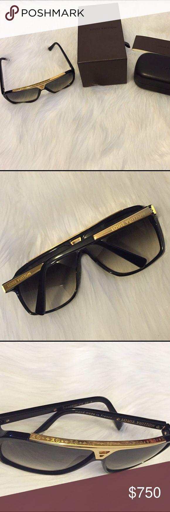 e8f9a5d1296 Louis Vuitton Aviator Sunglasses Black « Heritage Malta