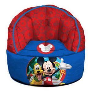 Your Mickey Mouse Fan Will Love Lounging In Their Very Own Disney Bean Bag Chair Measures X Great Fun And Comfortable Seating For Any Room