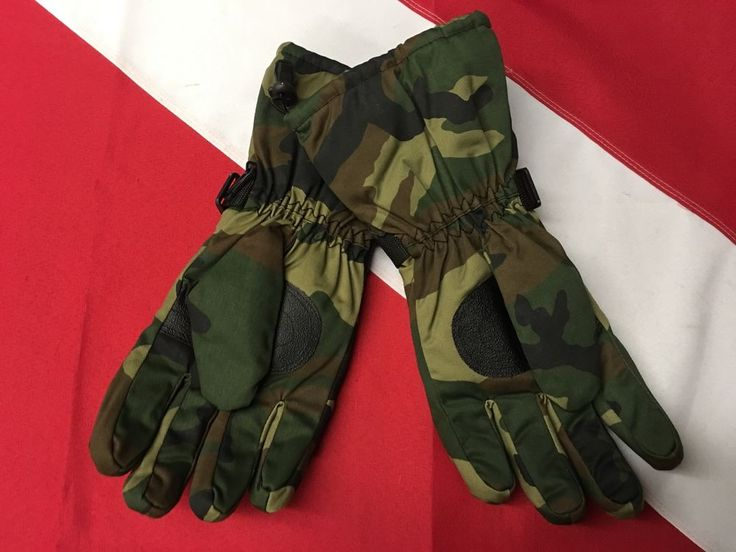 Thermoblock Insulated gloves camo disaster tactical earthquake survival gear XL #Rothco