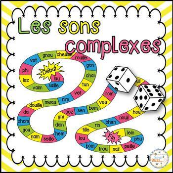 Intégrations: - Lecture - Les sons complexes - Centres de littératie - Collaboration Voici 3 jeux très amusant qui mettent l'emphase sur la lecture des sons complexes. Ce jeu marche três bien dans les centres! Voici les règles: Chaque joueur