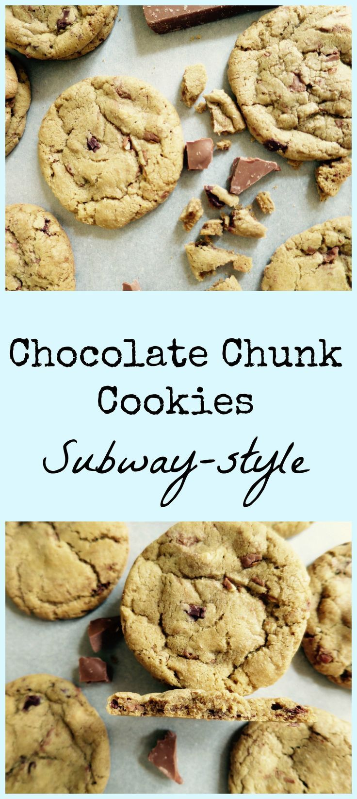 How To Make Chocolate Chunk Cookies That Taste Just Like Subway Cookies!
