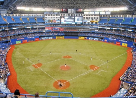 Rogers Centre - home of the Toronto Blue Jays!
