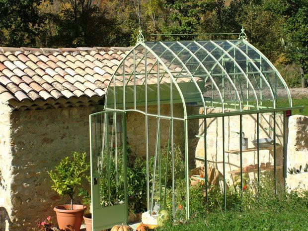 2979 best conservatories images on pinterest balcony - Serre de jardin fer forge ...