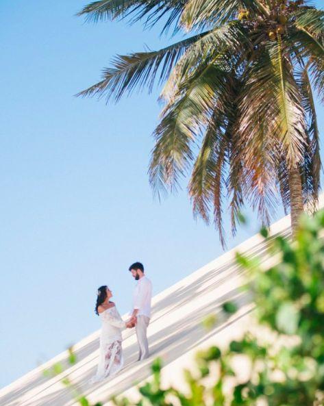 Fotografia: Duo Borgatto. Casamento na praia em Jericoacoara, Ceara. Estilo de casamento simples e despojado, pé na areia, entre coqueiros e areias no Ceará.