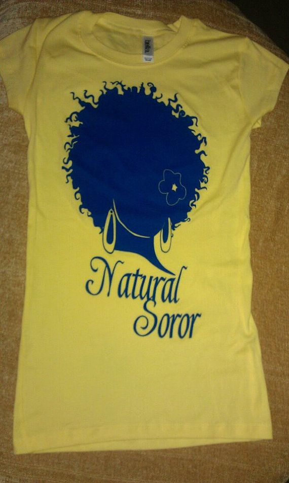 SIGMA GAMMA RHO Natural Soror Shirt by AuNaturelDiva on Etsy, $24.00