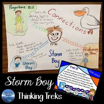 Storm Boy by Colin Thiele - a set of 24 creative and critical thinking task…