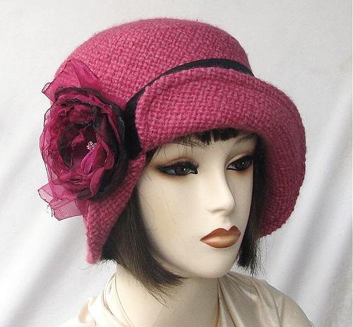 1920's Cloche Hat. @designerwallace