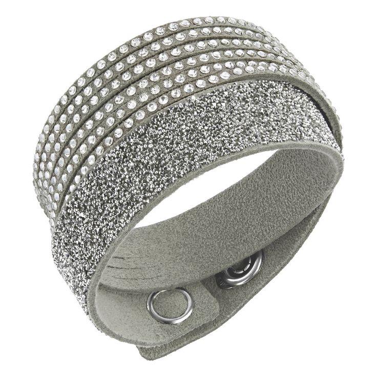 Swarovski armband slake gray crystal