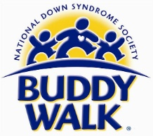 The Buddy Walk® was established in 1995 by the National Down Syndrome Society to celebrate Down Syndrome Awareness Month in October and to promote acceptance and inclusion of people with Down syndrome. The national program has grown from 17 Walks to over 250 expected this year!  Click the logo to learn more and find a Buddy Walk in your area - we'd love for you to join us.