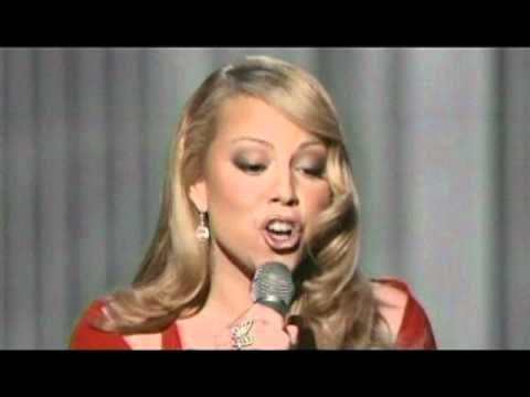 "Mariah Carey performing ""We Belong Together"" live at The MTV Movie Awards. Phenomenal."