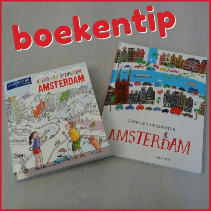 Boekentips Amsterdam: een verhalenboek en een kleurboek om de stad te beleven #Amsterdam #leukmetkids #boekentip #prentenboek #geschiedenis