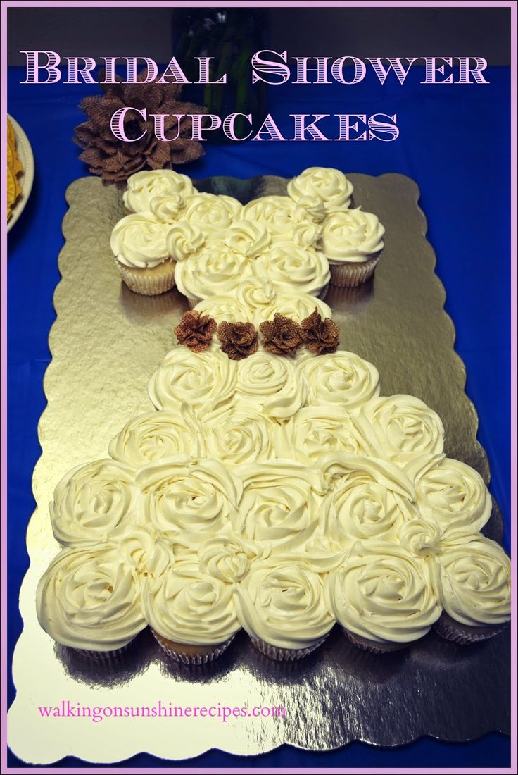 cupcake recipes for bridal shower%0A The perfect bridal shower luncheon menu from Walking on Sunshine Recipes