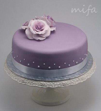Cakes by Mifa - Photo album - 02 Wedding Cakes - Small Violet ...